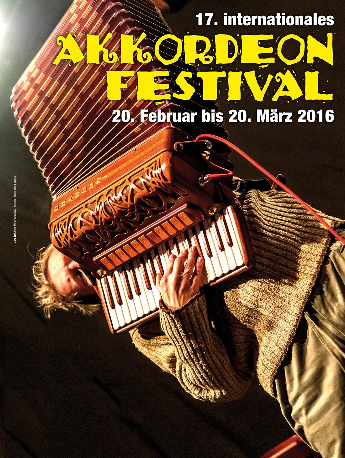 17. Internationales Akkordeon Festival 2016 in Wien