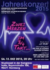Nürnberger Akkordeonorchester Jahreskonzert 2015