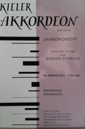 Kieler Akkordeon-Orchester Jahreskonzert