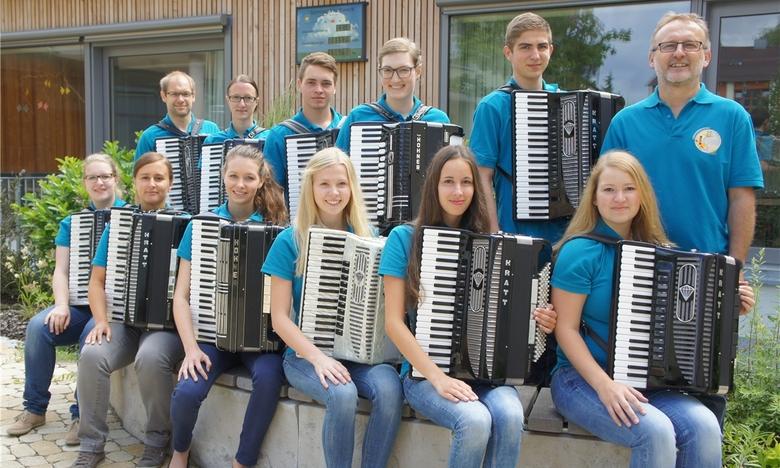 Akkordeonorchester der Landkreismusikschule Cham