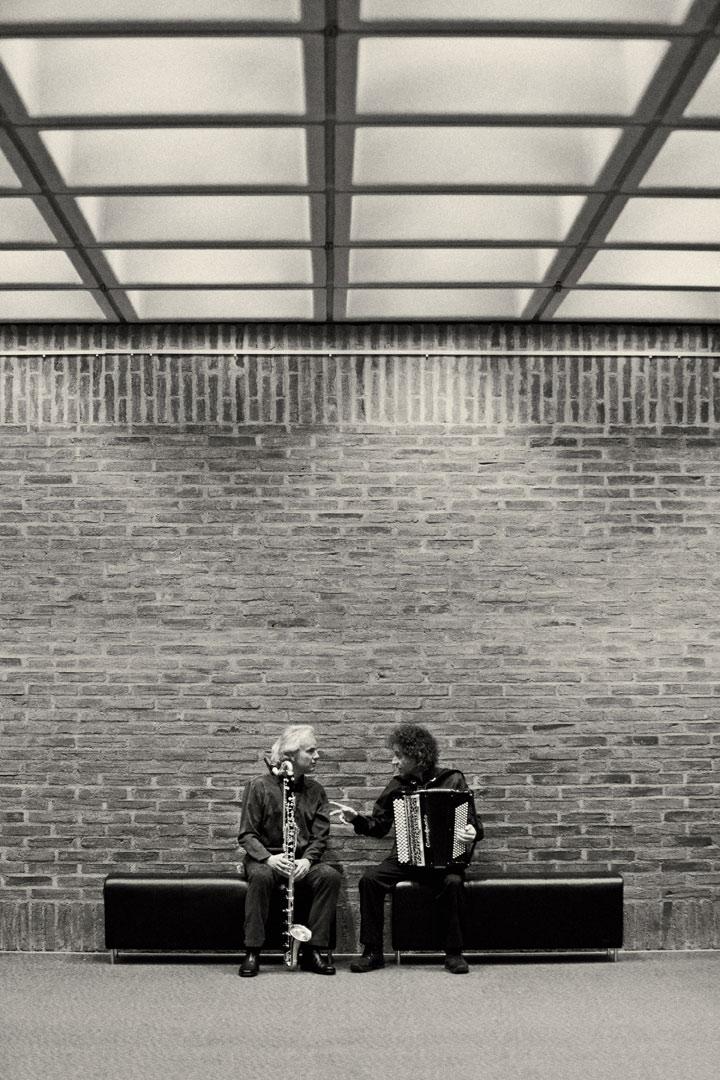 Duo Jean Louis Matinier (acc) & Michael Riessler (bcl) - Copyright Thomas Radlwimmer