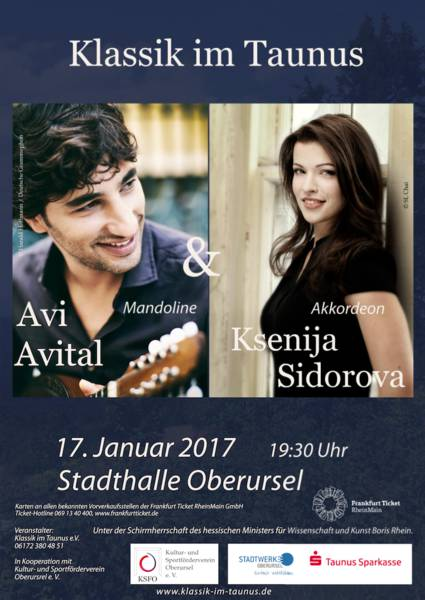 KLASSIK IM TAUNUS Avi Avital, Ksenija Sidorova. Between the worlds