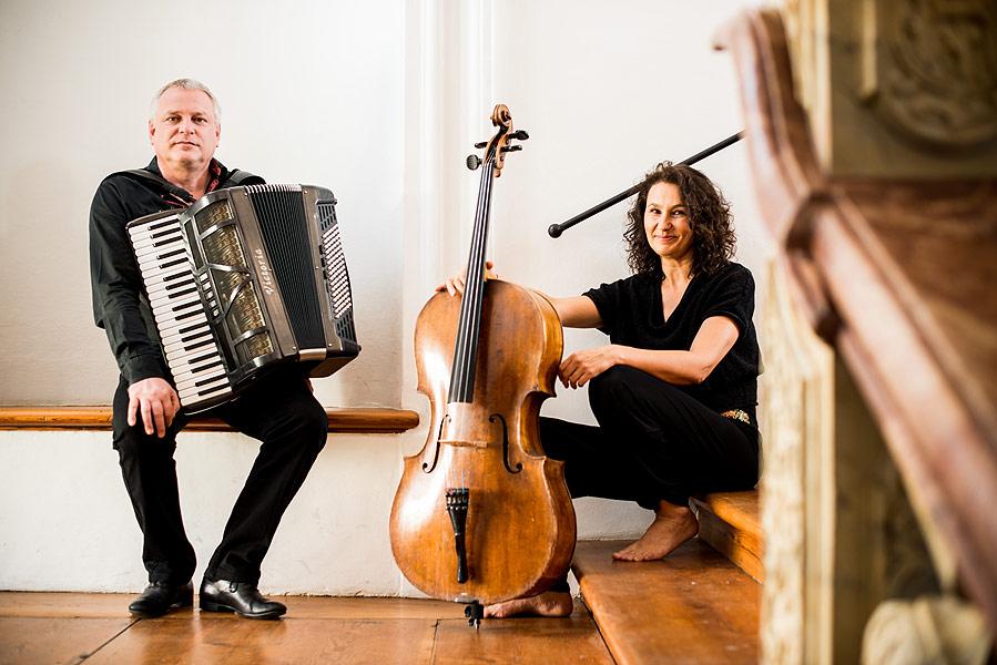 Akkordeon trifft Cello: Timeless Suite Klaus Paier/Asja Valcic © ACT / Michael Reidinger