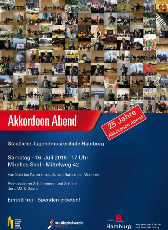 Akkordeon Abend Hamburg