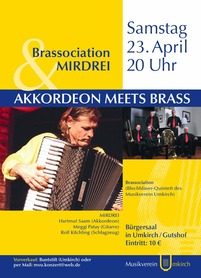 Akkordeon meets Brass