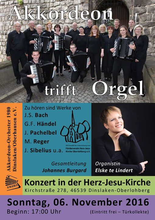 Akkordeon trifft Orgel