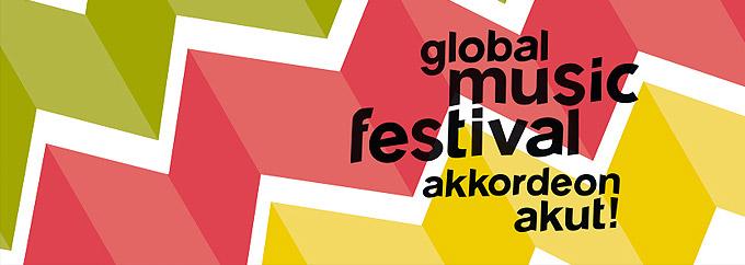 Global music festival - akkordeon akut!