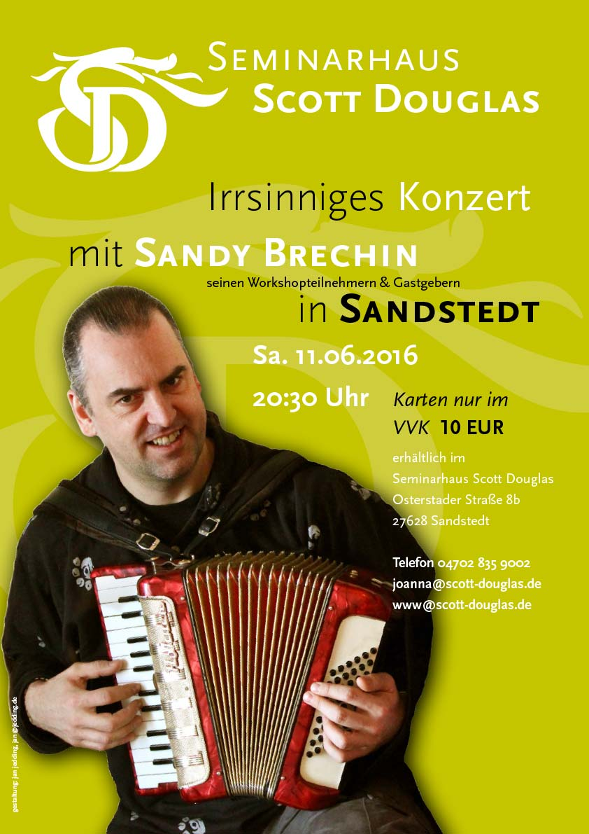 Schottisches Akkordeon Sandy Brechin