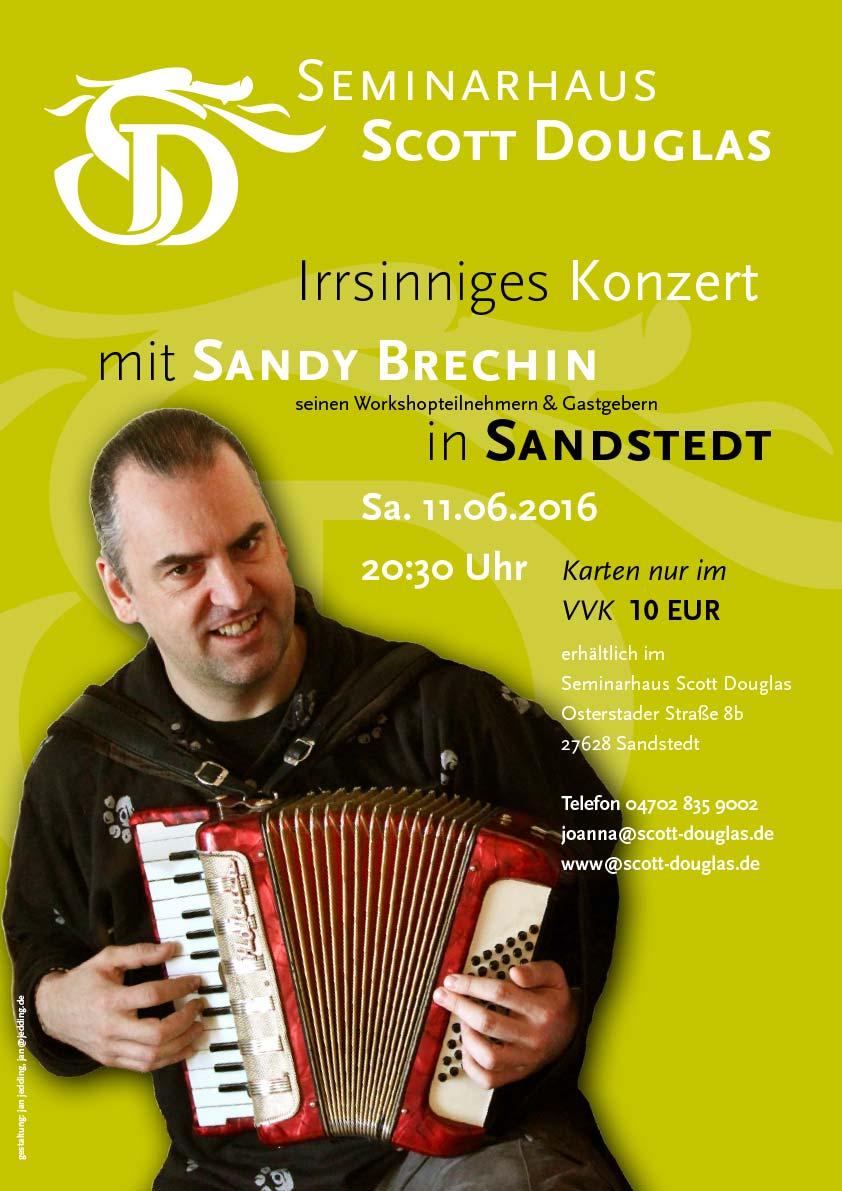 Schottisches Akkordeon Sandy Brechin